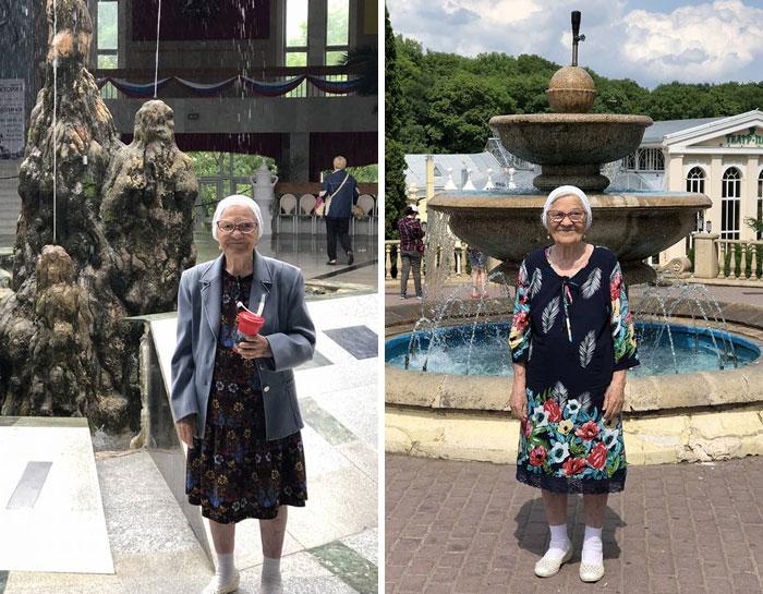 Cụ bà 91 tuổi người Nga một mình đi du lịch khắp thế giới bằng tiền tiết kiệm, còn đến cả Việt Nam cưỡi xe máy cực chất! - Ảnh 1.
