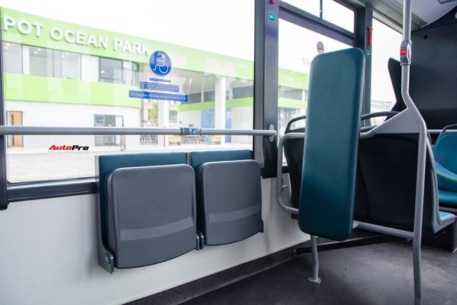 Trải nghiệm VinBus tại Hà Nội: Nhiều tính năng thông minh, tự nâng/hạ gầm, WiFi miễn phí, giá như buýt thường - ảnh 5