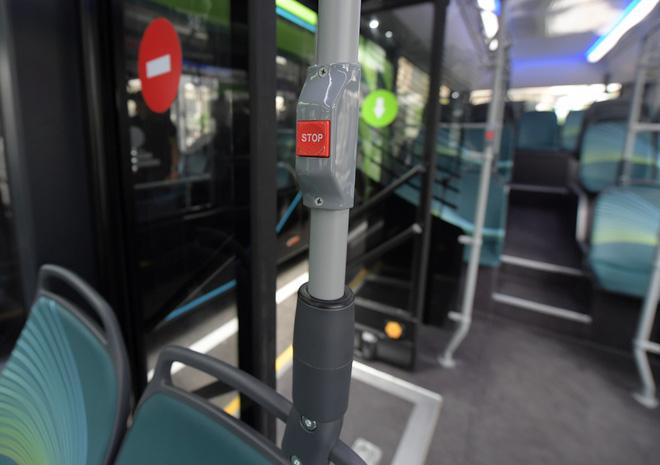 Ảnh: VinBus chính thức khai trương, đưa vào vận hành tuyến xe buýt điện thông minh đầu tiên của Việt Nam - ảnh 6
