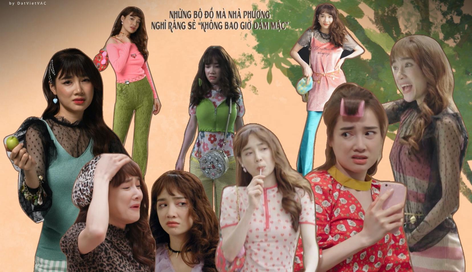 Kinh hoàng với Nhã Phương và thời trang xấu điên đảo ở Cây Táo Nở Hoa - Ảnh 2.