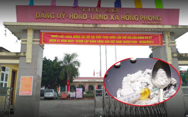 Vị Phó Chủ tịch xã bị bắt quả tang tàng trữ ma tuý từng khẳng định với lãnh đạo không sử dụng ma tuý - ảnh 1