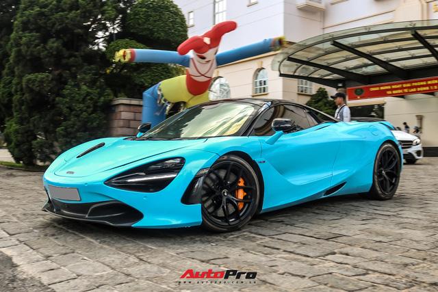Cận cảnh ngoại thất mới đổi màu của McLaren 720S Spider thuộc sở hữu của dân chơi lan đột biến - ảnh 7