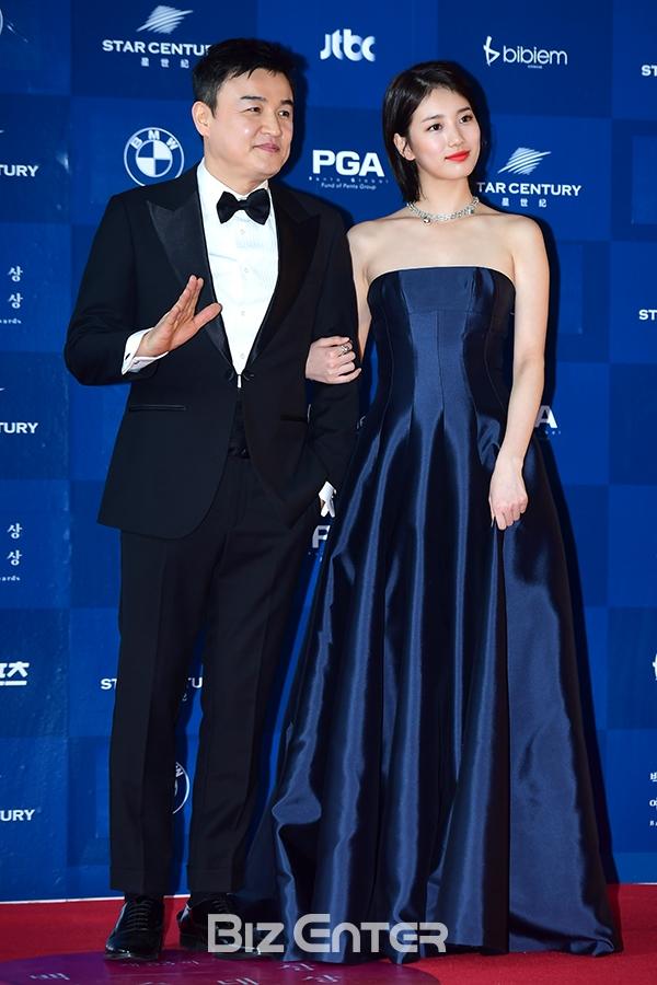 Nữ thần Baeksang gọi tên Suzy: 5 năm làm host rung chuyển xứ Hàn vì visual tuyệt mỹ, đỉnh nhất lần hở bạo và xén tóc ngắn cũn - ảnh 6