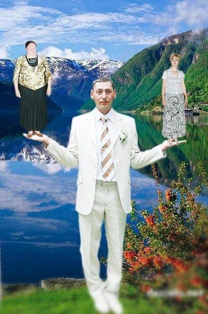 Tuyển tập những tấm ảnh cưới không đẹp tí nào nhưng chắc chắn cô dâu chú rể đều... vui tính - ảnh 12
