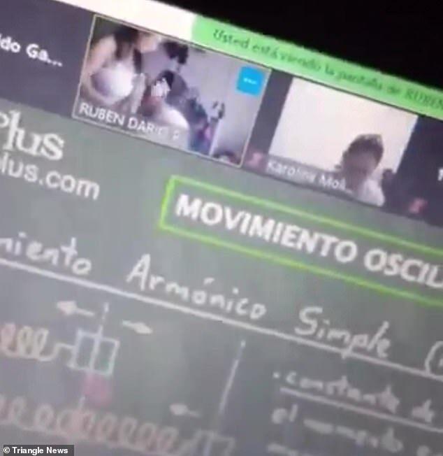 Thầy giáo khốn đốn vì quên tắt camera rồi hôn ngực vợ sau khi giảng bài trên Zoom - Ảnh 3.