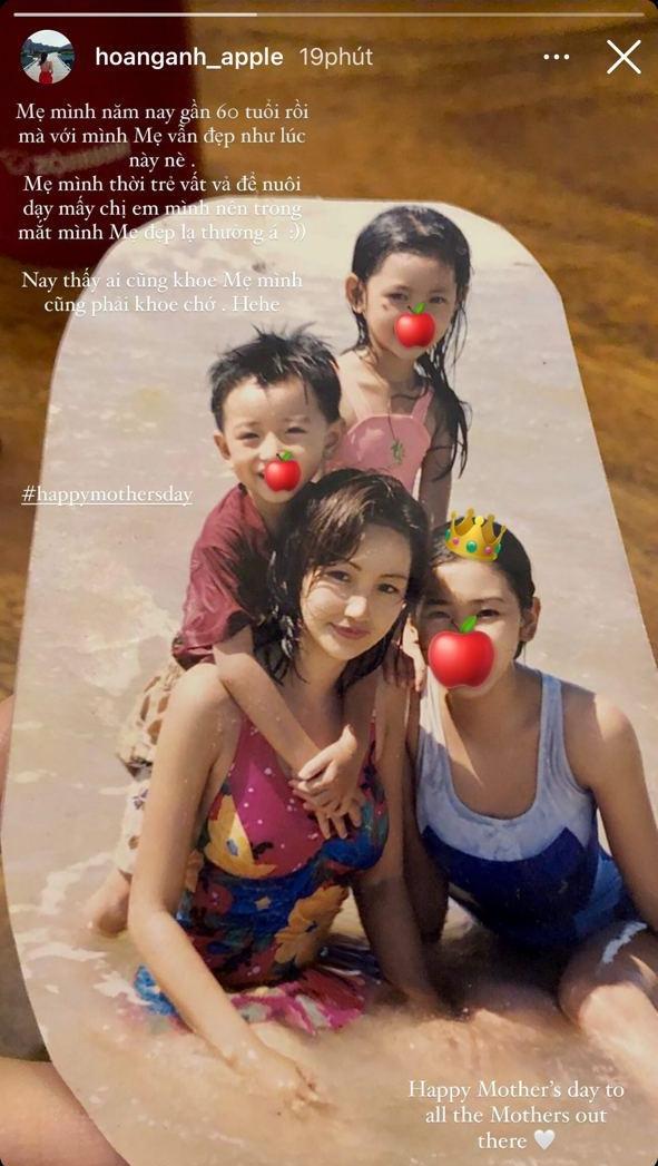 Cựu hot girl Sài Gòn khoe nhan sắc mẹ đẹp nức nở, di truyền hết cho con gái ở hiện tại - ảnh 2
