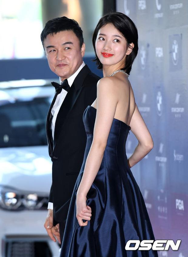 Nữ thần Baeksang gọi tên Suzy: 5 năm làm host rung chuyển xứ Hàn vì visual tuyệt mỹ, đỉnh nhất lần hở bạo và xén tóc ngắn cũn - ảnh 8
