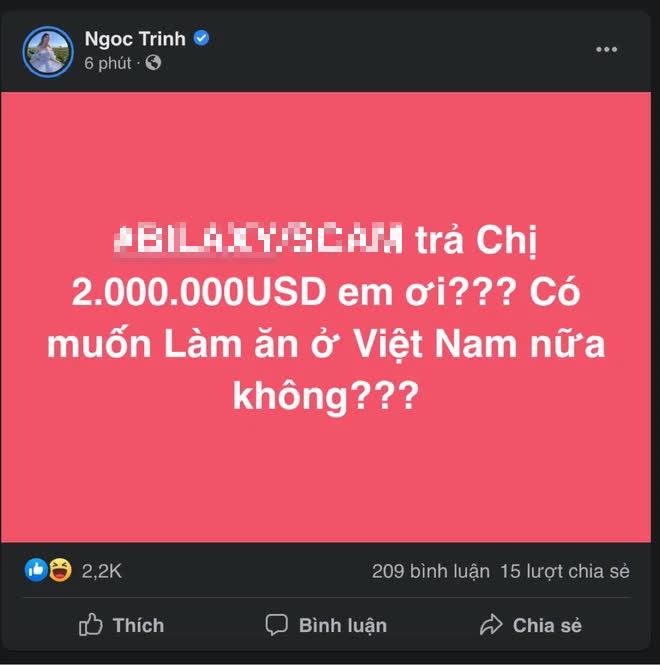 Biến mới: Ngọc Trinh công khai đòi nợ 46 tỷ đồng, còn cảnh cáo Có muốn làm ăn ở Việt Nam nữa không? - ảnh 1