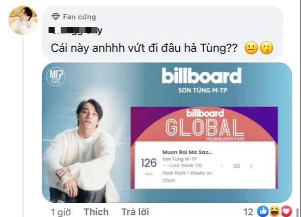 Hỏi nhỏ: Cả làng ăn mừng thành tích lọt BXH Billboard Global xong xuôi rồi mà Sơn Tùng M-TP vẫn chưa biết à? - ảnh 6