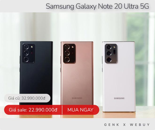 Samsung giảm 15 triệu, iPhone giảm 6 triệu và loạt deal khủng chớ nên bỏ qua trong tuần này - ảnh 1