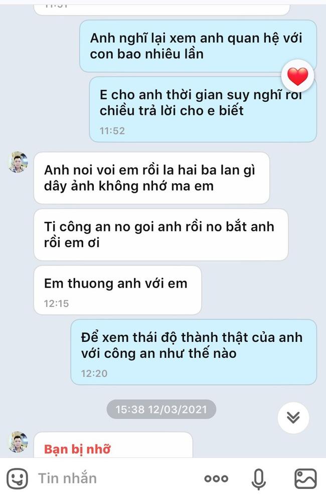 Vụ con gái tố bị cha dùng vũ lực hiếp dâm ở Phú Thọ: Lộ tin nhắn cầu xin tha thứ của người cha, dù trước đó một mực chối tội - ảnh 2