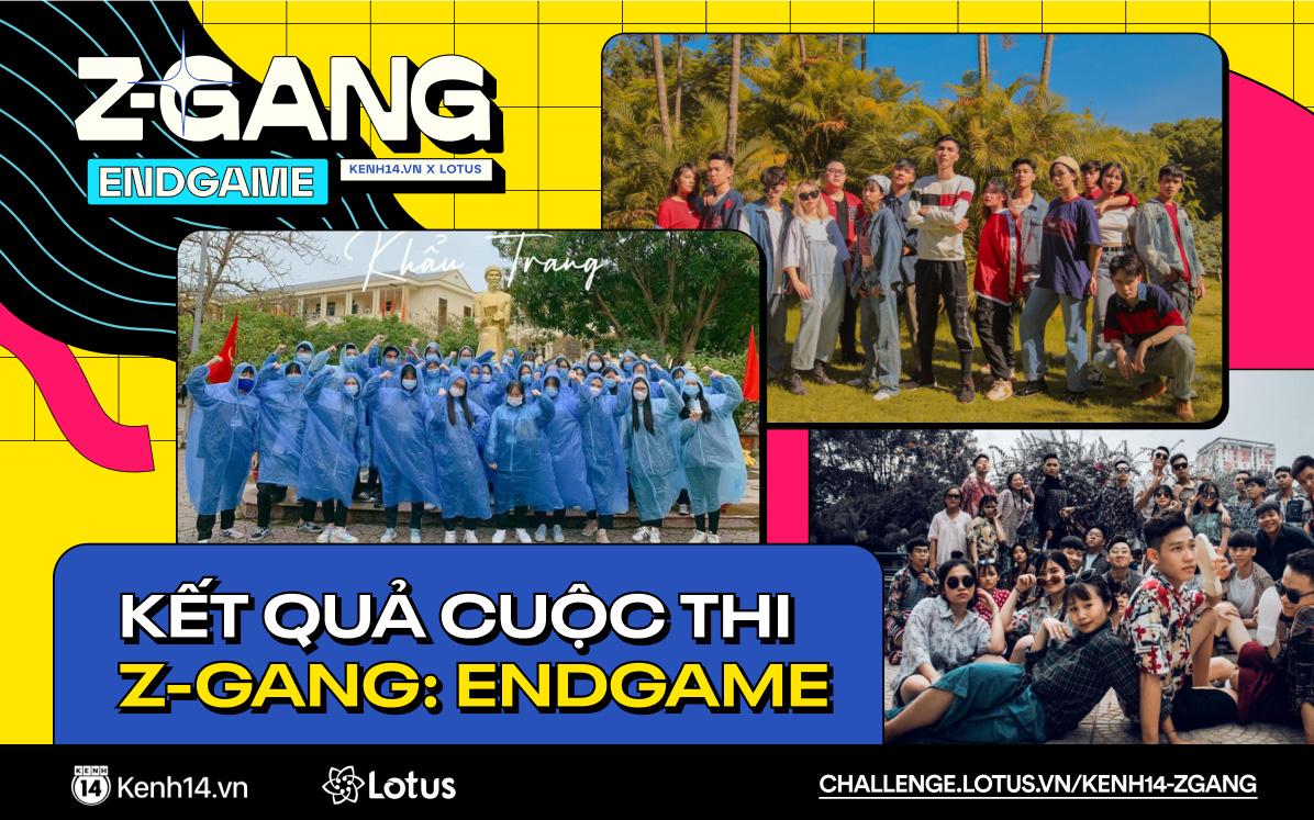 Kết quả chung cuộc Z-Gang Endgame: Đội nào được Quân AP - Amee - Quỳnh Anh Shyn và khán giả vote giải Nhất?