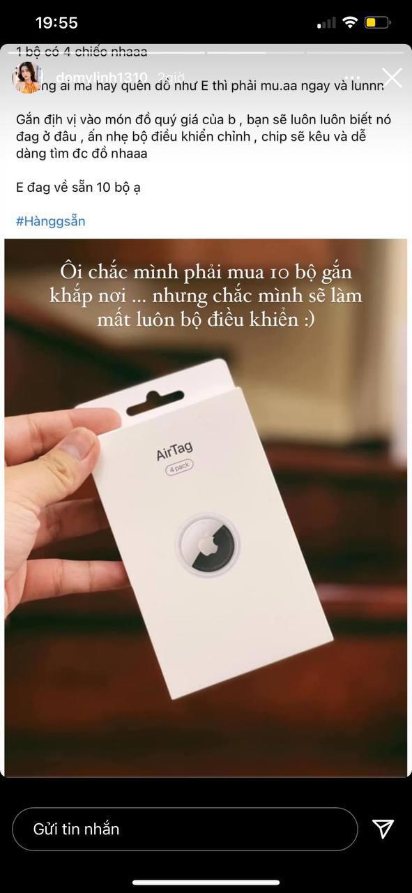 Hoa hậu Đỗ Mỹ Linh đăng story muốn mua 10 chiếc AirTag, nhưng sao lại nhầm nhọt hài hước quá thế này! - ảnh 2