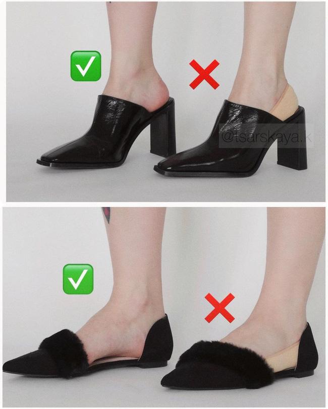 Một lỗi sai khi đi giày/sandals mà nhiều chị em không để ý nhưng lại khiến trang phục kém sang trầm trọng - ảnh 6
