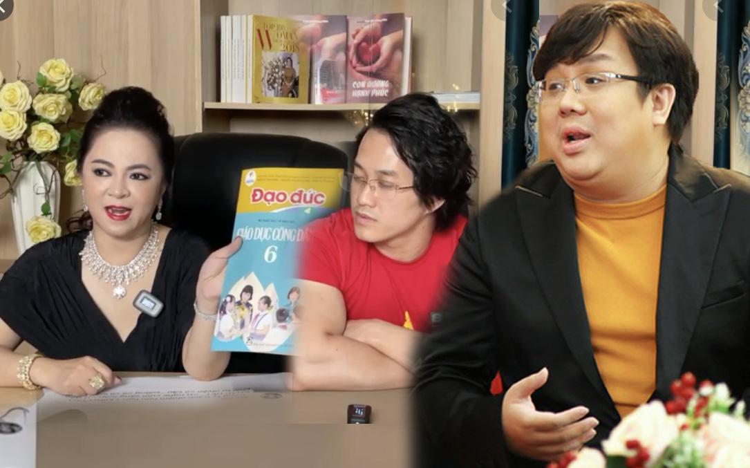 Bà Phương Hằng xin lại sách GDCD và Đạo đức của gymer từng xúc phạm cố NS Chí Tài, tuyên bố ship tận nhà con nuôi NS Hoài Linh