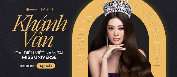 Khánh Vân bất ngờ gặp sự cố khi đang trình diễn Quốc phục ở với Miss Universe, pha xử lý đỉnh cao khiến ai cũng nức nở tự hào - ảnh 6