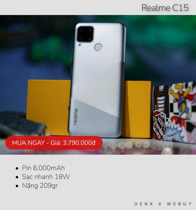 Sáu mẫu smartphone pin khủng từ 6.000mAh, rất hợp với team shipper, xe ôm công nghệ - ảnh 2