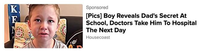 Kể bí mật của bố với cô giáo, bé trai được đưa đến bệnh viện ngay ngày hôm sau, sự thật về mẩu chuyện drama này là câu chuyện đầy nhân văn - ảnh 1