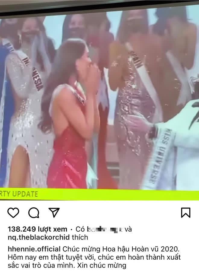 Ghi trọn điểm 10 dù dừng chân ở Top 21: Khánh Vân có hành động đẹp với Tân Hoa hậu, H'Hen Niê cũng được khen - ảnh 2