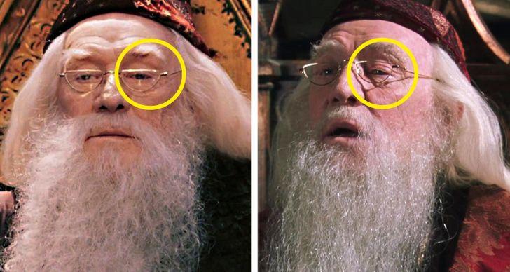 Loạt sai sót trong Harry Potter bị lật tẩy: Chi tiết quan trọng thoắt ẩn thoắt hiện, cặp kính của cụ Dumbledore để lộ bí mật hậu trường - Ảnh 6.