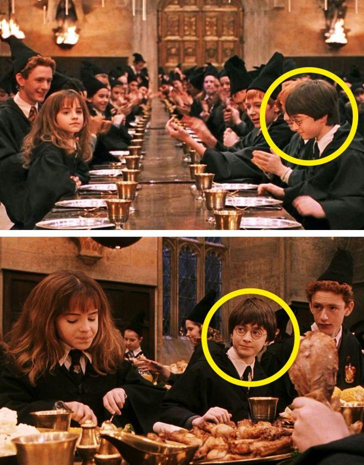 Loạt sai sót trong Harry Potter bị lật tẩy: Chi tiết quan trọng thoắt ẩn thoắt hiện, cặp kính của cụ Dumbledore để lộ bí mật hậu trường - Ảnh 10.