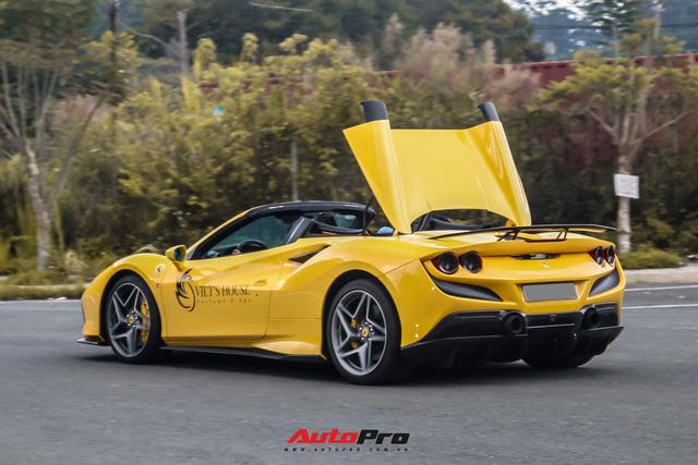 Ferrari F8 Spider của nữ doanh nhân cà phê 9x nâng cấp hàng loạt đồ chơi hàng hiệu - ảnh 6