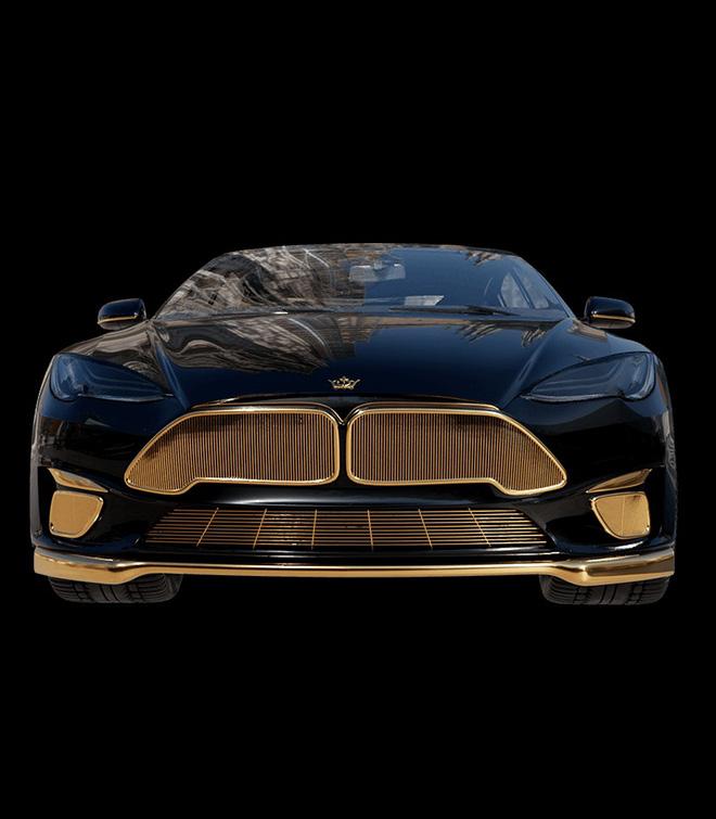 Chơi xe kiểu nhà giàu: Chi 7 tỷ mua cặp Tesla và iPhone 12 mạ vàng giới hạn 99 đôi trên toàn thế giới - ảnh 6