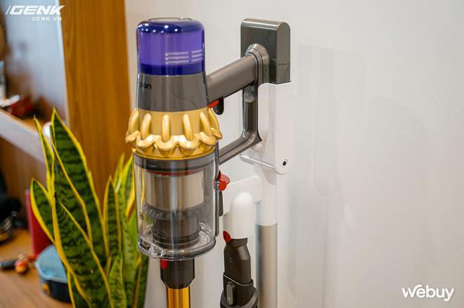 Trải nghiệm máy hút bụi Dyson giá 21 triệu: Nhiều phụ kiện, lắp ghép như LEGO, hút khỏe, chỉ hợp với nhà sang chảnh - ảnh 3