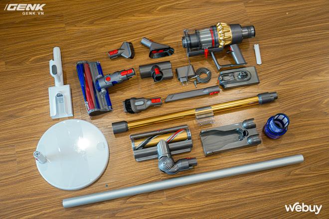 Trải nghiệm máy hút bụi Dyson giá 21 triệu: Nhiều phụ kiện, lắp ghép như LEGO, hút khỏe, chỉ hợp với nhà sang chảnh - ảnh 5