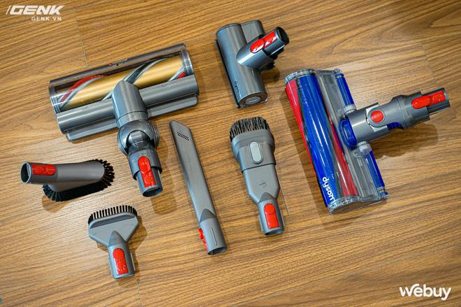Trải nghiệm máy hút bụi Dyson giá 21 triệu: Nhiều phụ kiện, lắp ghép như LEGO, hút khỏe, chỉ hợp với nhà sang chảnh - ảnh 6