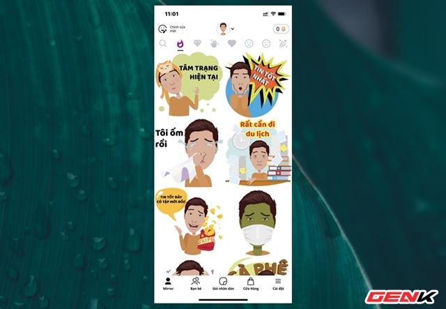 Cách biến gương mặt của chính bạn thành sticker hài hước trên smartphone - ảnh 10