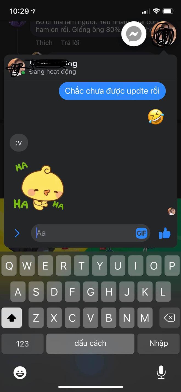 Messenger trên iPhone cập nhật bong bóng chat, người khen không thấy, người chê thì nhiều vô kể! - ảnh 1