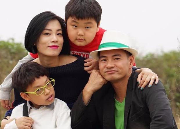 Gia đình nhỏ hạnh phúc của Hồng Nhung và Xuân Bắc
