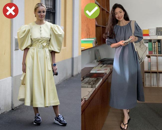 4 lỗi diện váy dài khiến nàng cao ráo cũng thành một mẩu, dáng bị to ngang - Ảnh 2.