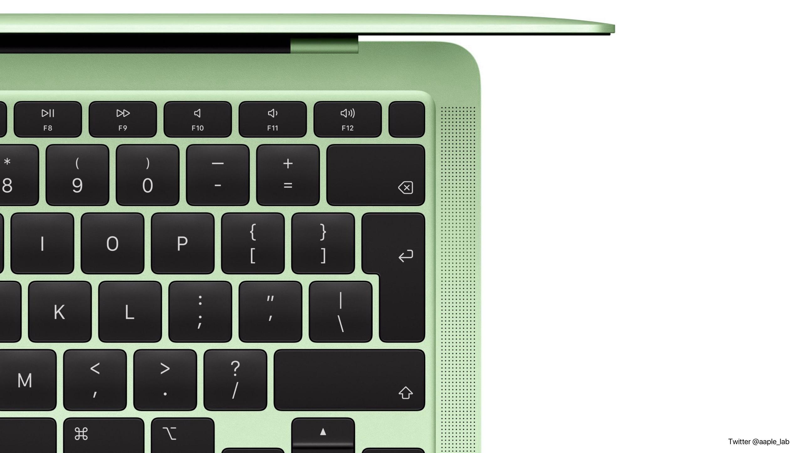 MacBook Air 2021 sẽ có 7 màu sắc giống iMac, nhìn là muốn ...