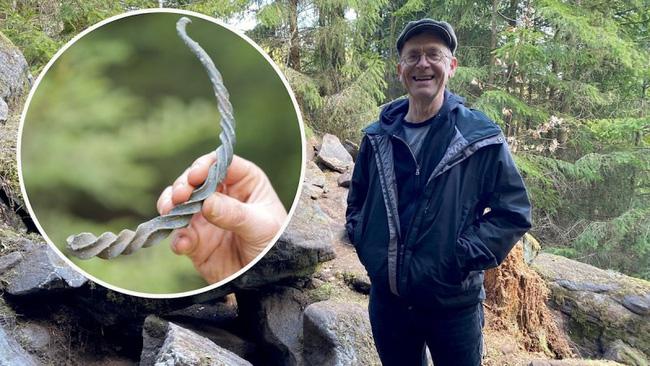 Đi bộ trong rừng, người đàn ông nhìn thấy thứ tưởng là rác nào ngờ vớ được kho báu vô giá khiến các nhà khoa học phải thốt lên: Phi thường - ảnh 1