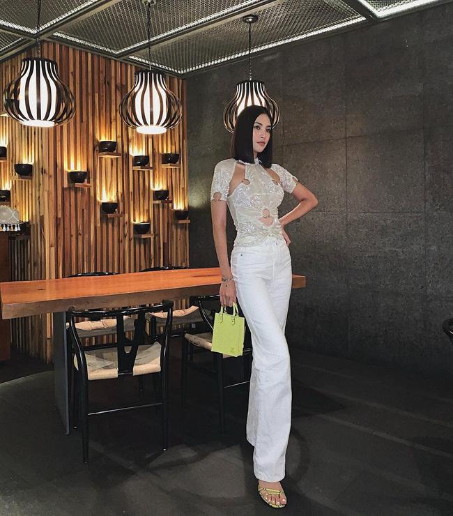 Đụng hàng một mẫu áo: Hoa hậu Tiểu Vy thật gợi cảm còn Ngọc Trinh trông khó hiểu vậy? - ảnh 3