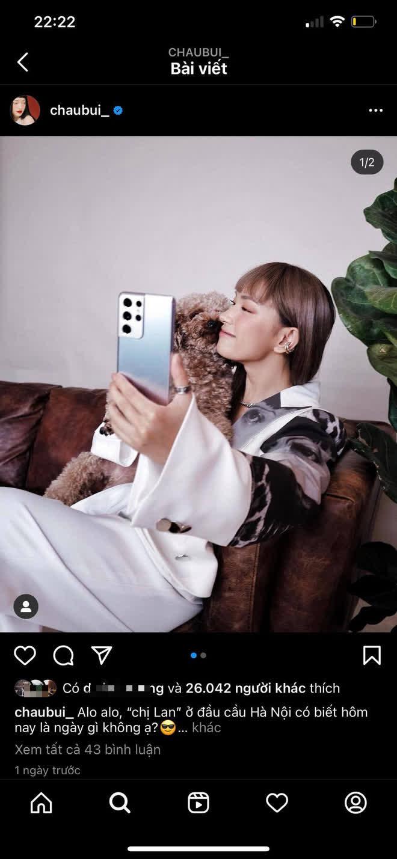 Là gương mặt đại diện sản phẩm Samsung, nhưng Châu Bùi lại bị netizen soi hint dùng iPhone một cách trớ trêu - ảnh 3