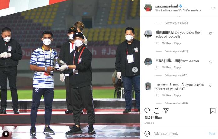 Báo Indonesia sốc nặng khi thấy Instagram của cầu thủ đội nhà bị fan Việt tấn công nhưng thừa nhận hành động này là có lý do - Ảnh 1.
