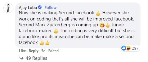 Mark Zuckerberg khoe con gái 5 tuổi học lập trình, cộng đồng mạng tấm tắc chắc cô bé sắp xây Facebook phiên bản thứ 2 - ảnh 2