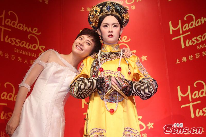 Màn trao cúp Thị hậu drama nhất Bạch Ngọc Lan 2012: Chân Hoàn - Tôn Lệ sượng trân vì hụt giải, Lưu Thi Thi có biểu cảm kinh điển - Ảnh 5.