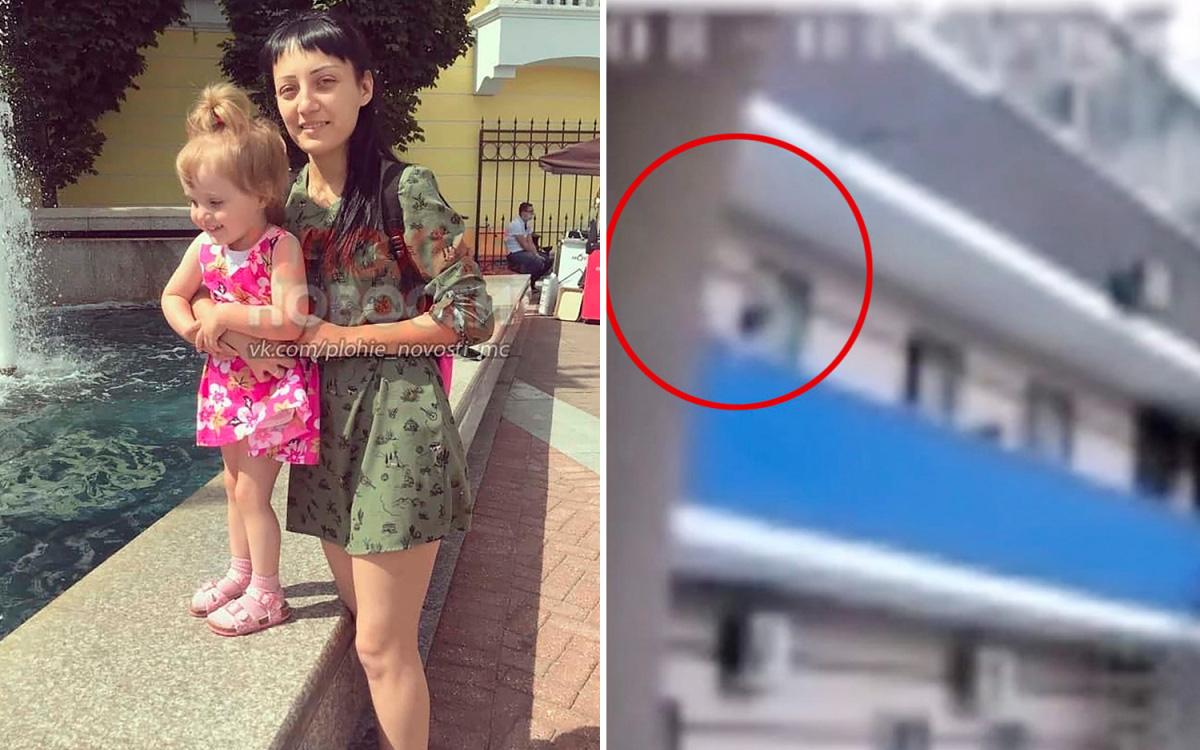 Mẹ trẻ phạt treo con gái nhỏ lơ lửng ngoài ban công gây nên thảm cảnh kinh hoàng, video ghi lại sự việc khiến mọi người rùng mình