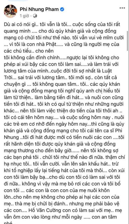 Phi Nhung cùng Hồ Văn Cường ngồi lại làm rõ ồn ào: Sốc khi bị con đâm sau lưng, phải đóng vai ác thì con mới chịu nghe lời - ảnh 3