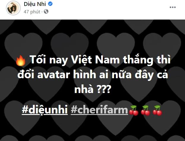 Trước giờ G đấu Malaysia, Diệu Nhi bắt trend Việt Nam thắng thay avatar, nhưng sao bị  spam 1 đống tên Anh Tú thế này? - ảnh 1