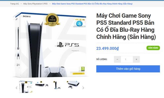Khó như mua PS5 chính hãng tại VN: Đắt hơn giá Sony niêm yết tới 9 triệu, thà mua hàng xách tay còn hơn! - ảnh 2