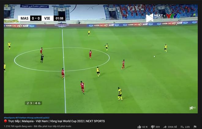 Sức nóng quá lớn, trận đấu Việt Nam - Malaysia hút lượng người xem cao không tưởng, ăn đứt trận gặp Indonesia - ảnh 2