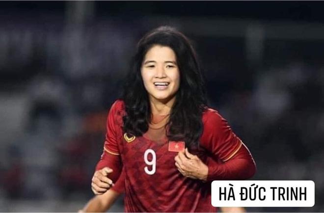 Hình ảnh các nữ cầu thủ ĐT Việt Nam khuấy đảo MXH, nhan sắc thầy Park gây bất ngờ nhất - ảnh 14
