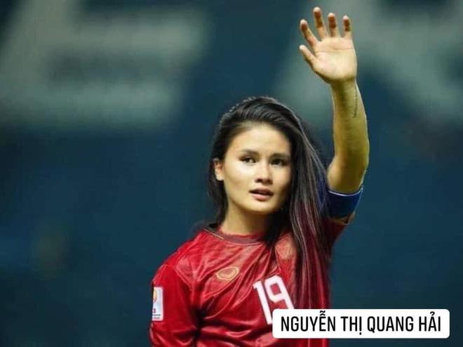 Hình ảnh các nữ cầu thủ ĐT Việt Nam khuấy đảo MXH, nhan sắc thầy Park gây bất ngờ nhất - ảnh 4