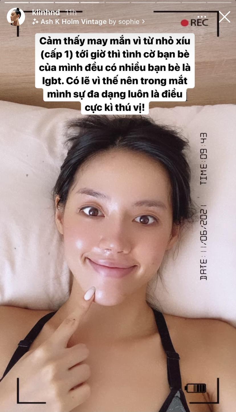 Sao Việt để mặt mộc: Hiền Hồ gây sốt với glass skin căng bóng, Á hậu Kiều Loan giữ ngôi chăm khoe da nhất - Ảnh 1.