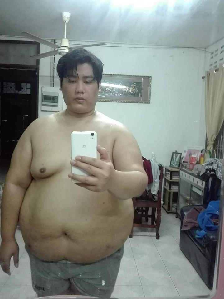 Chàng mập Thái Lan giảm một lèo 81kg rồi biến thành nam thần luôn - Ảnh 2.